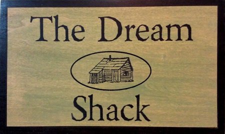 Custom wood sign for country living decor